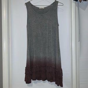 Midi ombré dress